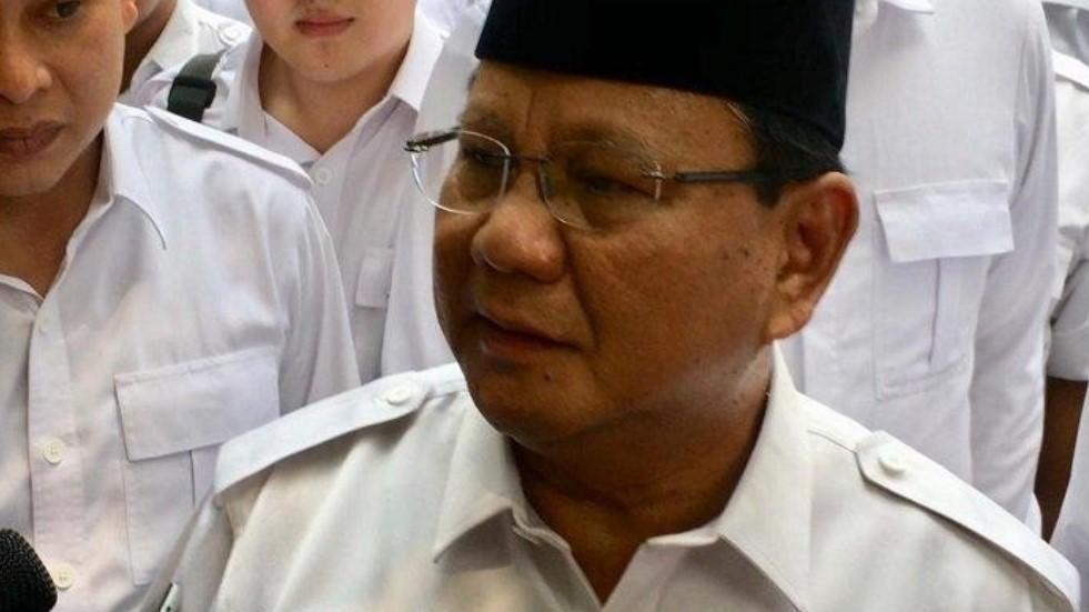 Diminta Maju Lagi Jadi Capres 2024, ini Respon Prabowo