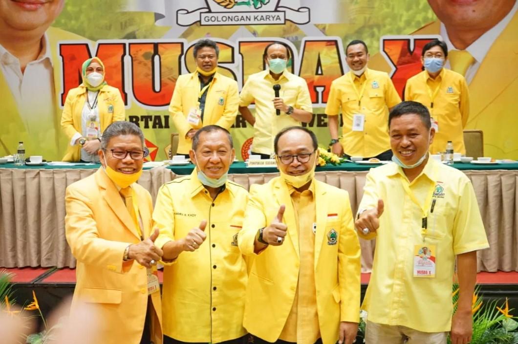 Diwarnai Perdebatan Alot, SIdang Musda Golkar Sulsel Loloskan 4 Kandidat Maju Bertarung
