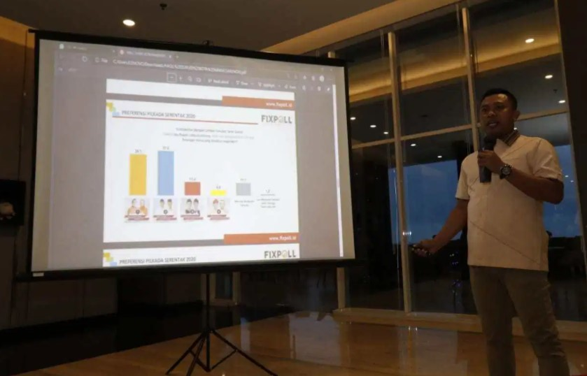 Dua Lembaga Survei Nasional Rilis Hasil Survei Pilwalkot Makassar Jelang Pencoblosan, Begini Hasilnya.