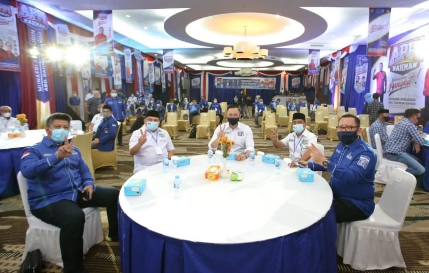 Dua Tokoh Muda Nasional AHY dan Sandiaga Uno Ajak Milenial Pilih Appi-Rahman