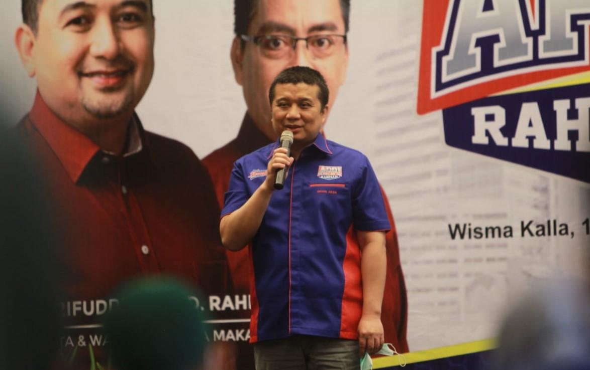 Erwin Aksa Akan Pimpin Langsung Tim Appi-Rahman ke Pengundian Nomor Urut