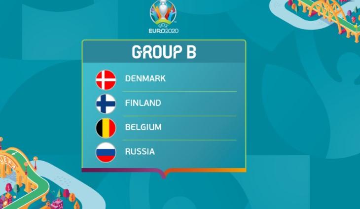 Euro 2020 : Persaingan Ketat di Grup B