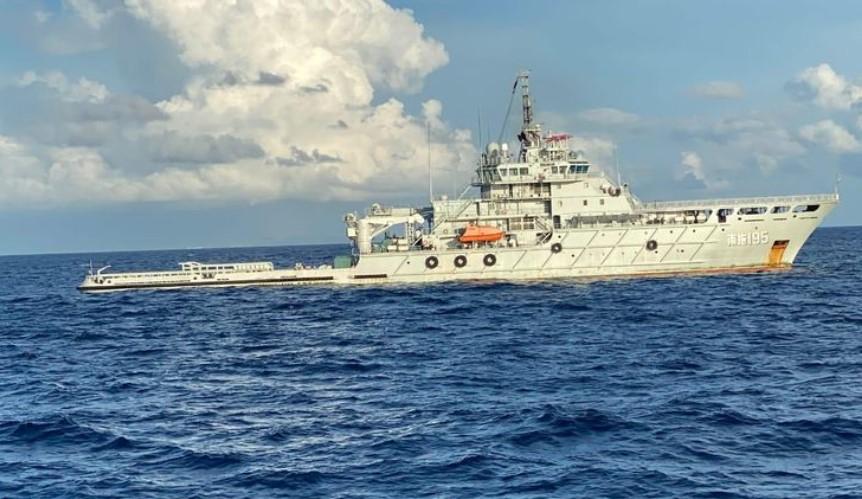 Evakuasi KRI Nanggala 402 : Kapal Singapura dan Malaysia Pulang, Kapal China Tiba di Bali
