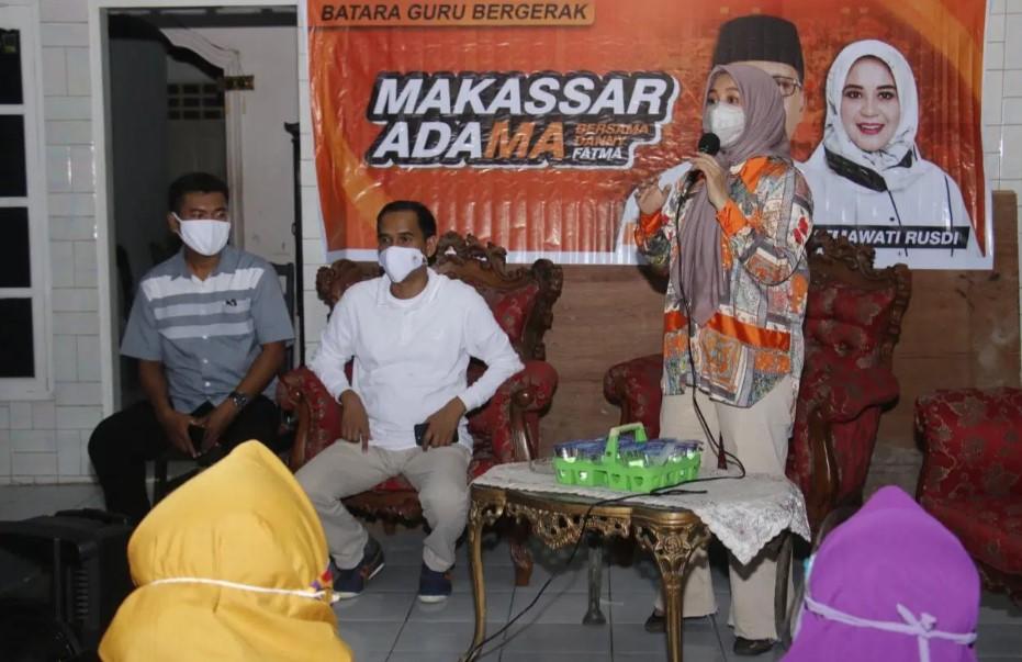 Fatma Ajak Warga Gunakan Hak Pilih di Pilkada Makassar 2020