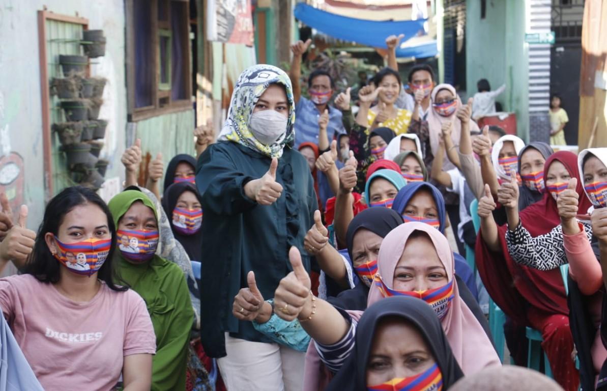 Fatma Ajak Warga Makassar Lawan Hoaks dan Ujaran Kebencian