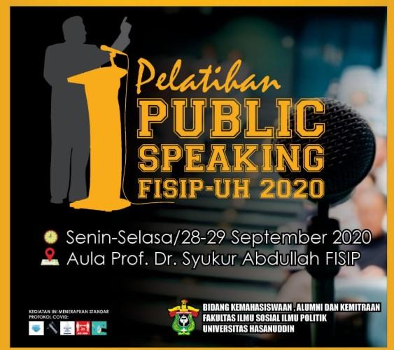 Fisip Unhas Akan Gelar Publik Speaking, Lahirkan Aktivis Mahasiswa Yang Handal Berbicara