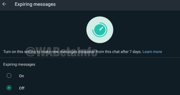 Fitur Baru Whatsapp, Bisa Hapus Pesan Otomatis