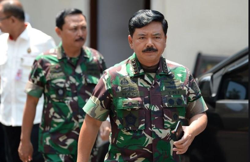 Fokus 3T di 8 Provinsi, Panglima TNI : Diperlukan Sinergitas Semua Elemen yang Ada