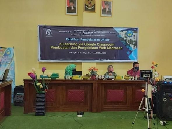 Gandeng Universitas Alauddin, Ma'had Biru Gelar Pembelajaran Online E-Learning