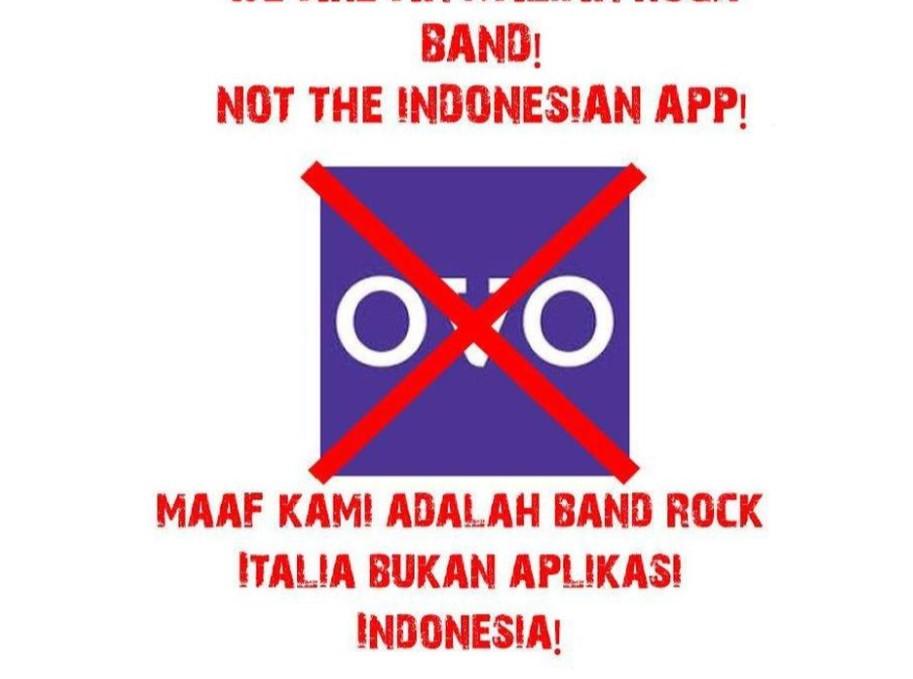 Gara-Gara Nama Mirip, Akun Facebook Band Rock Italia Diserbu Pengguna OVO