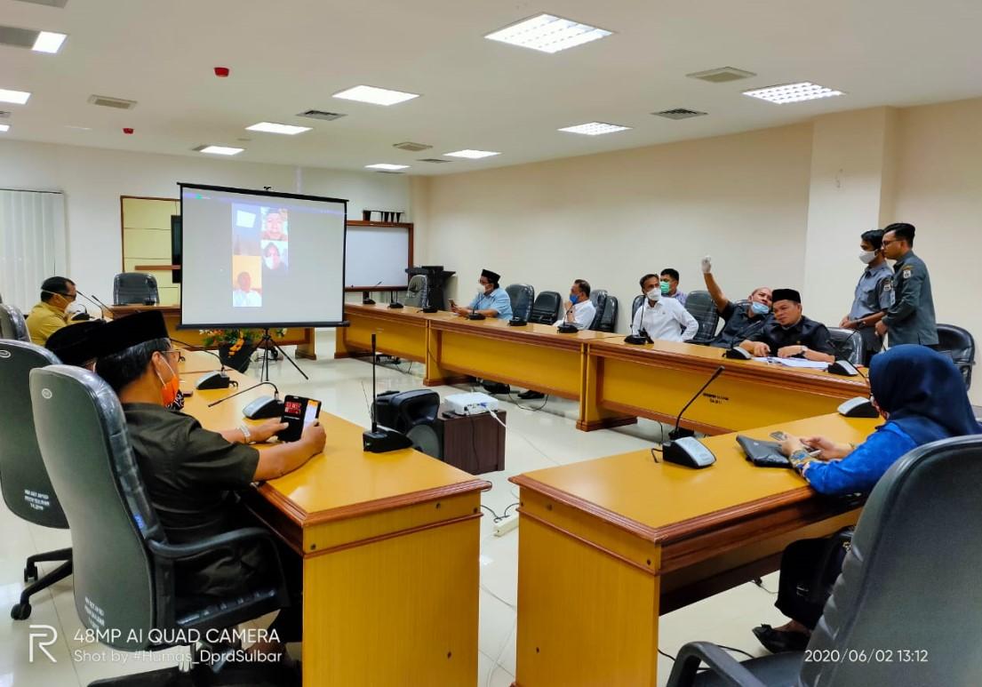 Gelar Rapat Gabungan, DPRD Sulbar Undang Direktur RSUD Regional Provinsi Sulbar
