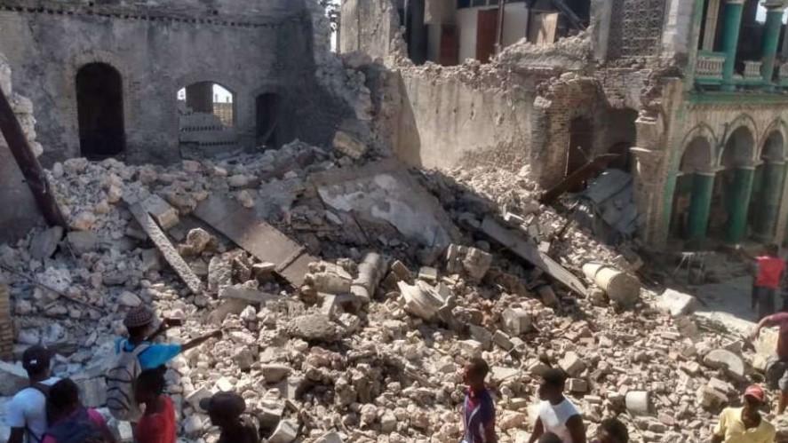 Gempa Guncang Haiti, Lebih 300 orang Meninggal dan Ribuan Luka-luka