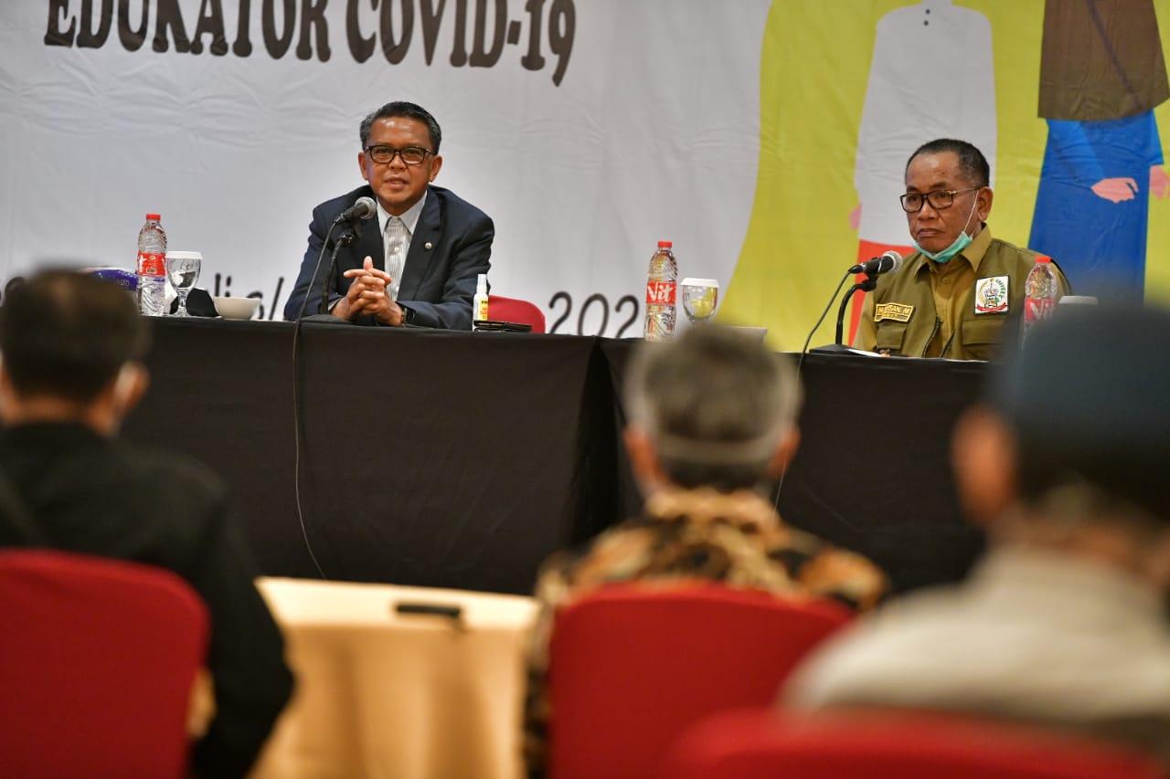 Gubernur Buka Orientasi Gerakan 1.000 Tokoh Agama Edukator Covid-19
