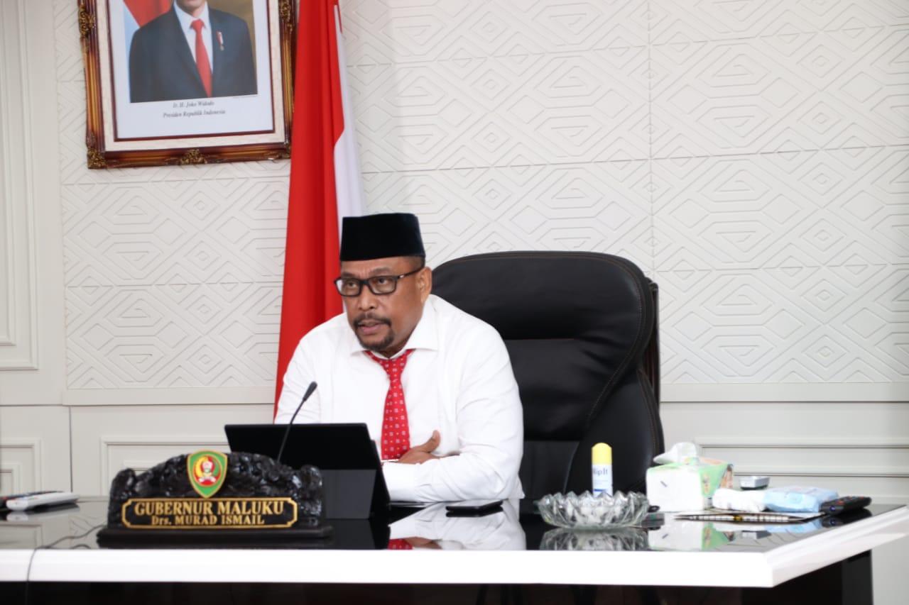Gubernur Maluku Sampaikan Nota Pengantar Ranperda Perubahan APBD TA 2020