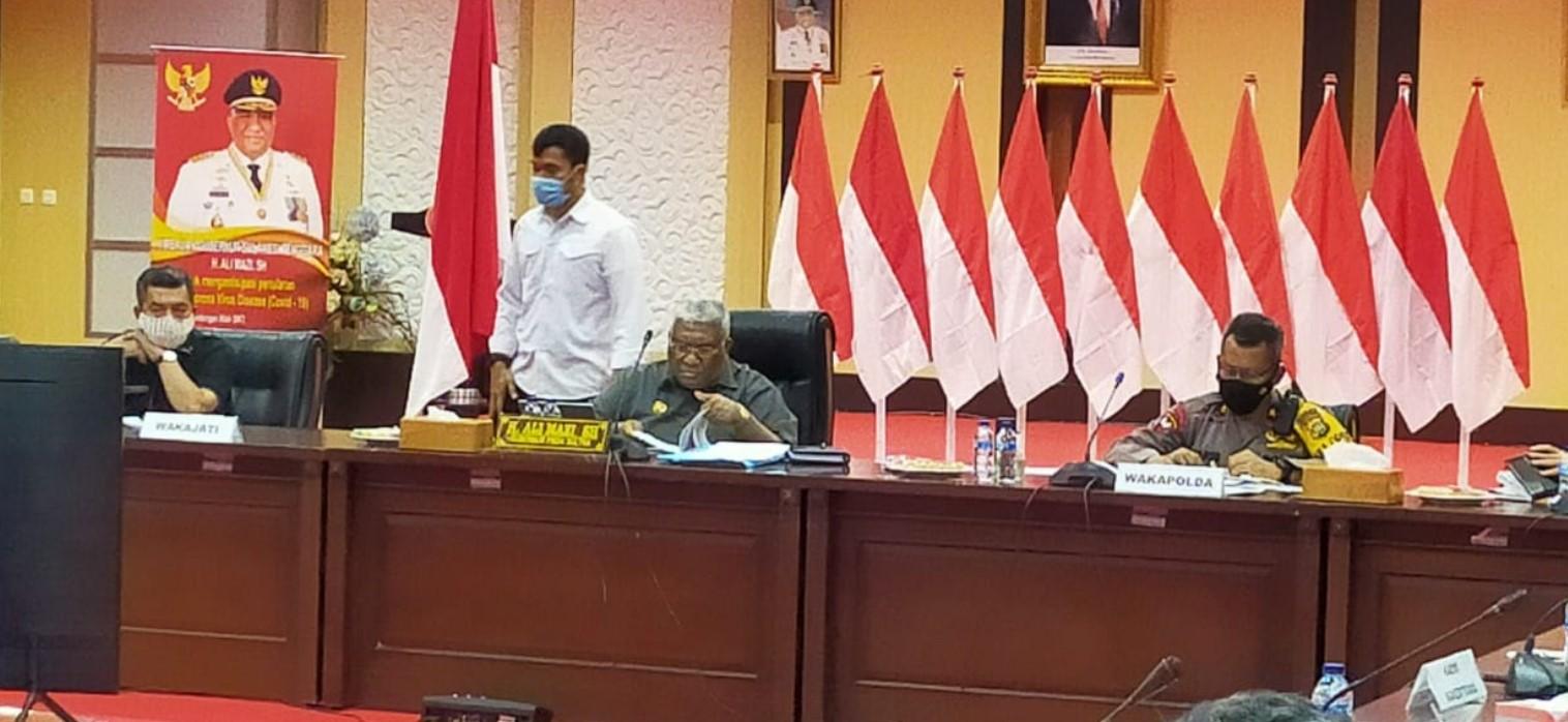 Gubernur Sultra : Undang-Undang Cipta Kerja Melindungi Hak-hak Pekerja dan Mencegah Korupsi