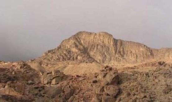 Gunung Sinai, Tempat Nabi Musa Berbicara dengan Allah