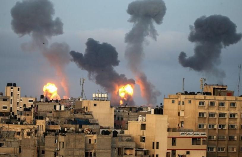 Hamas-Israel Jual Beli Serangan di Jalur Gaza