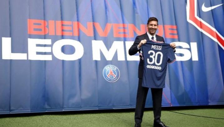 Hanya 7 Menit, Jersey Messi Laku Senilai Rp 400 Milyar