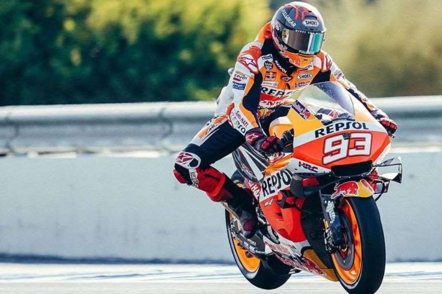 Hanya Marc Marquez yang Bisa Jinakkan Motor Honda