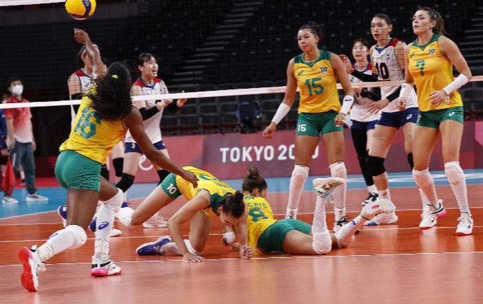 Hasil Bola Voli Putri Olimpiade Tokyo: Brasil Hadapi AS di Final