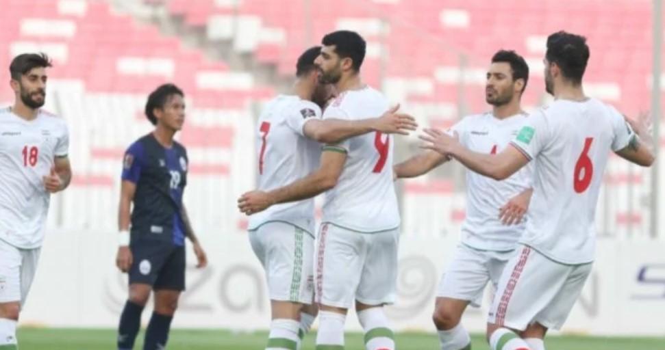 Hasil Euro 2020 : Iran Bantai Kamboja Hampir Selusin