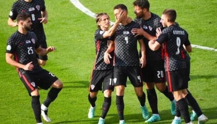 Hasil Euro 2020 : Kroasia Bermain Imbang Lawan Ceko