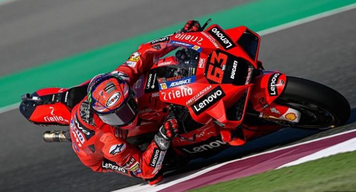 Hasil FP3 MotoGP San Marino 2021: Bagnaia Tercepat, Rossi dan Marquez Crash
