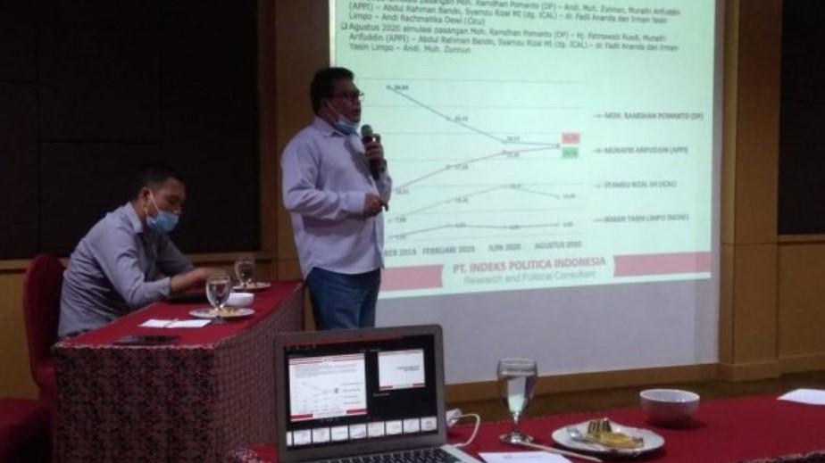 Hasil Survei Terbaru IPI untuk Pilwalkot Makassar, Danny-Appi Beda Tipis, Imun Terendah