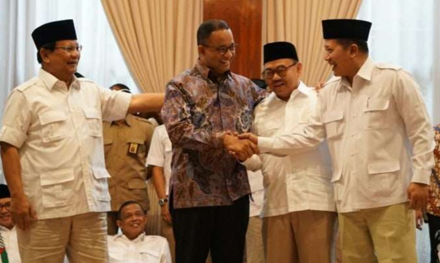 Hasil Survey Lembaga Indikator Politik, Anies Teratas dan Dipredikasi Akan Berhadapan dengan Prabowo di 2024