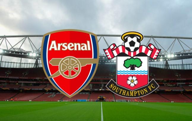 Hasil  Pertandingan Arsenal Vs Southampton di Pekan 13 Liga Inggris