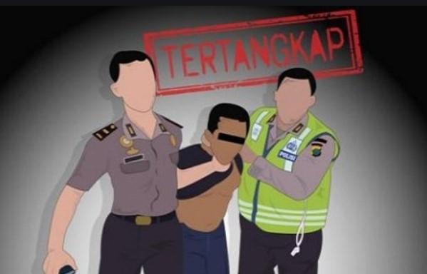 Hebat.., Kurang dari 9 Jam, Pelaku Pembunuhan IRT di Takalar Diringkus Polisi