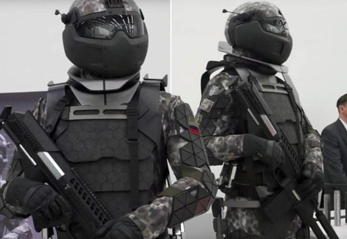 Ini Baju Tempur Terbaru Rusia, Bisa Tahan Peluru Kaliber 50