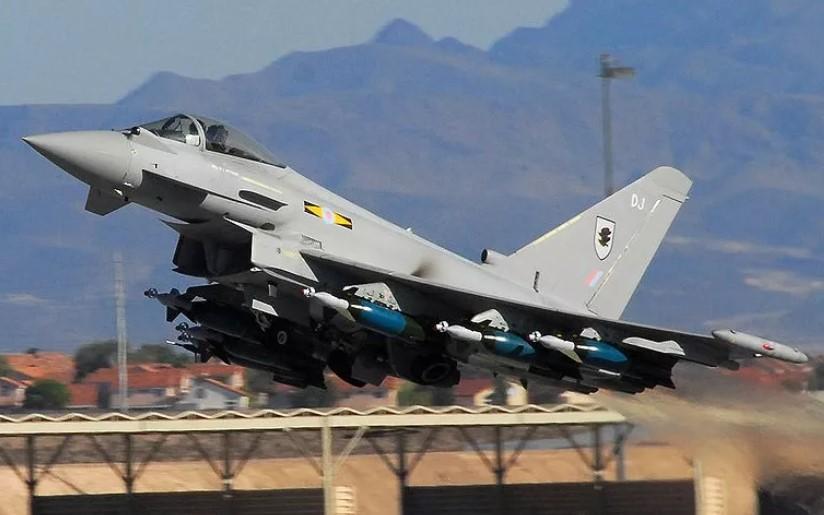 Ini Kecanggihan Eurofighter Typhoon, Jet Tempur Perang Libya Idaman Prabowo