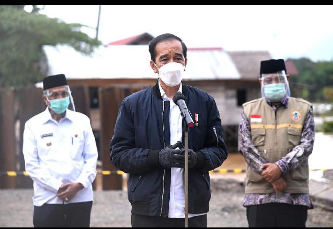 Ini Penyebab Banjir Besar di Kalsel Menurut Presiden Jokowi