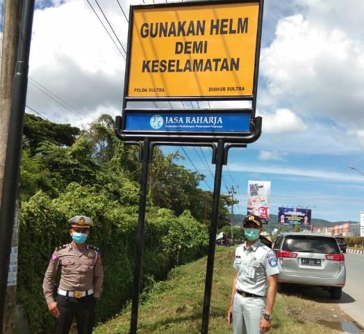 Ini Upaya Jasa Raharja Mengurangi Tingkat Kecelakaan di Sulawesi Tenggara