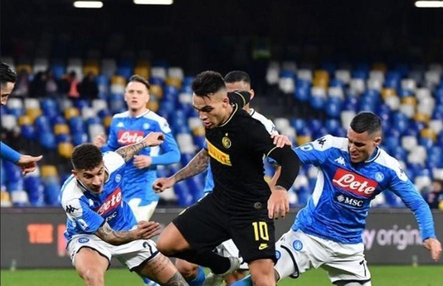 Inter Milan vs Napoli : Nerazzurri Menang Dua Gol Tanpa Balas