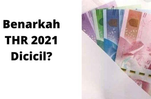 Jadwal Pencairan THR bagi PNS di Tahun 2021