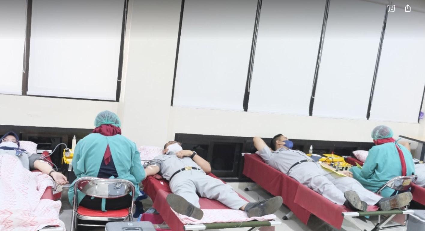 Jasa Raharja Sulsel Adakan Kegiatan Donor Darah
