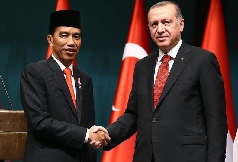 Jokowi Sapa Erdogan dan Bahas Peluang Kerja Sama Vaksin Covid-19 di Hari Idul Adha