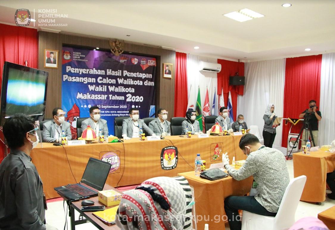 KPU Resmi Tetapkan DP-Fatma Resmi Jadi Kandidat Pilwalkot