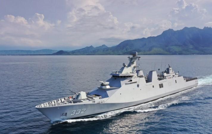 KRI I Gusti Ngurah Rai (GNR)-332 Deteksi Kapal Selam Asing