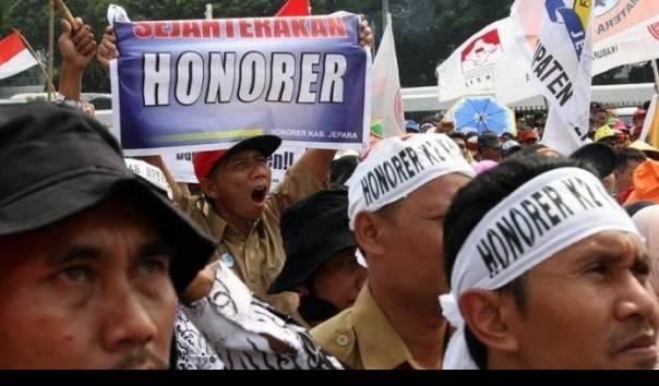 Kabar Gembira.., Tenaga Honorer Kecipratan Bantuan Sosial dari Pemerintah