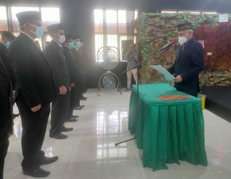 Kadikbud Sultra Lantik 84 Kepala Sekolah di Enam Kabupaten