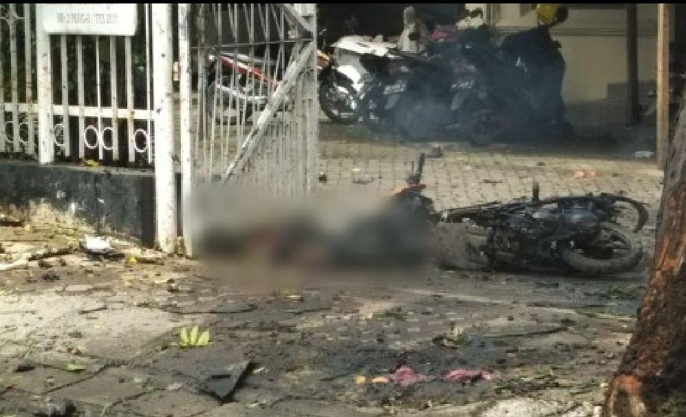 Kadiv Humas Polri : Pelaku Bom Bunuh Diri 2 Orang