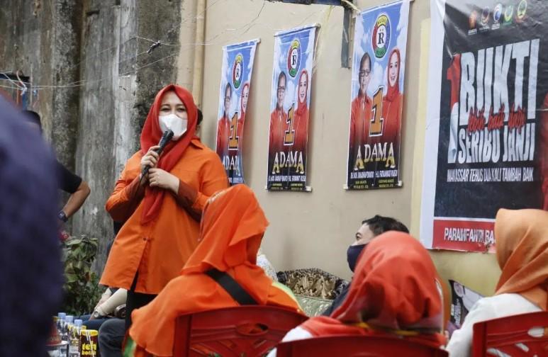 Kampanye di Mamajang, Fatma disambut Rudal Community