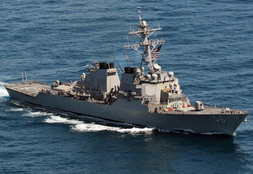Kapal Perang Amerika Lintasi Selat Taiwan, Tiongkok Siaga