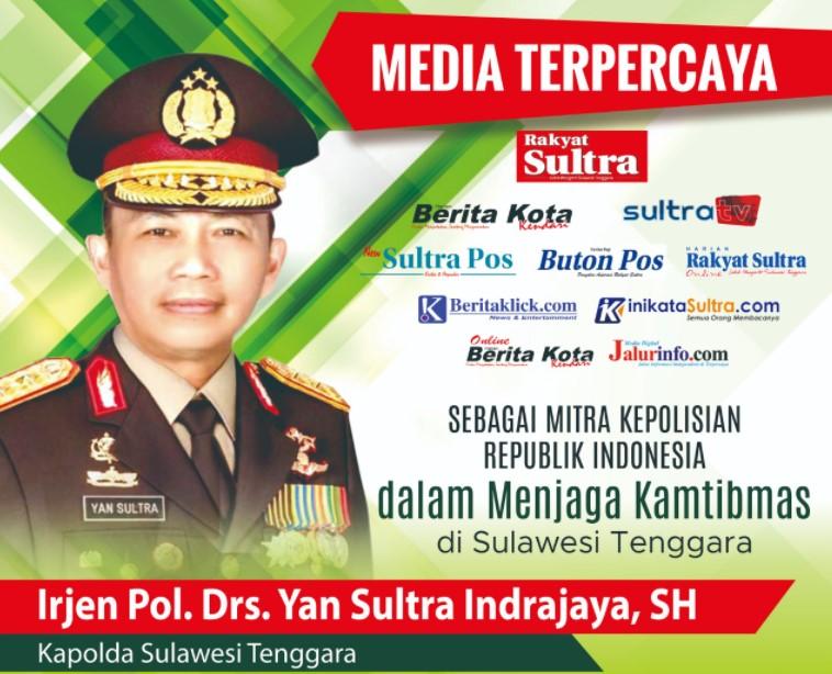 Kapolda Irjen Yan Sultra Ajak Media Membangun Sulawesi Tenggara Lebih Maju