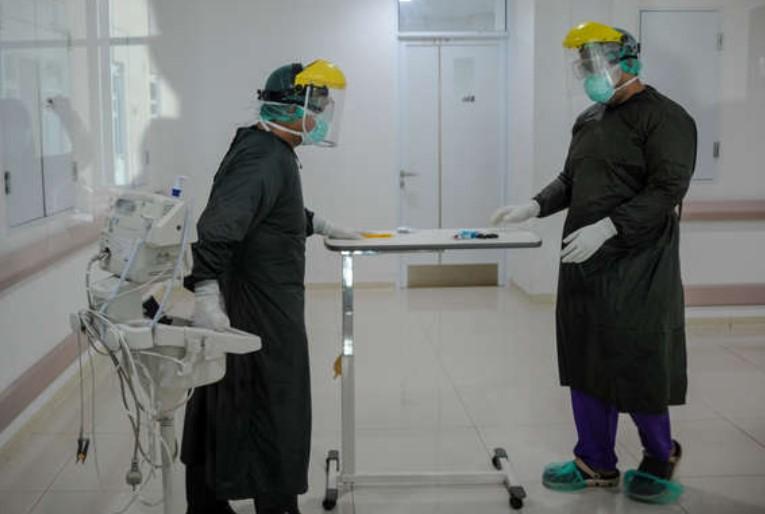 Kasus COVID-19 Meledak, Pendapatan Rumah Sakit Menanjak