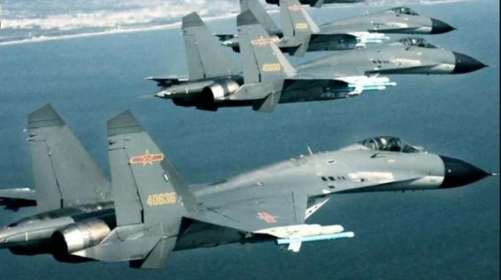 Ketegangan dengan Taiwan Meningkat, China Kirim 12 Jet Tempur