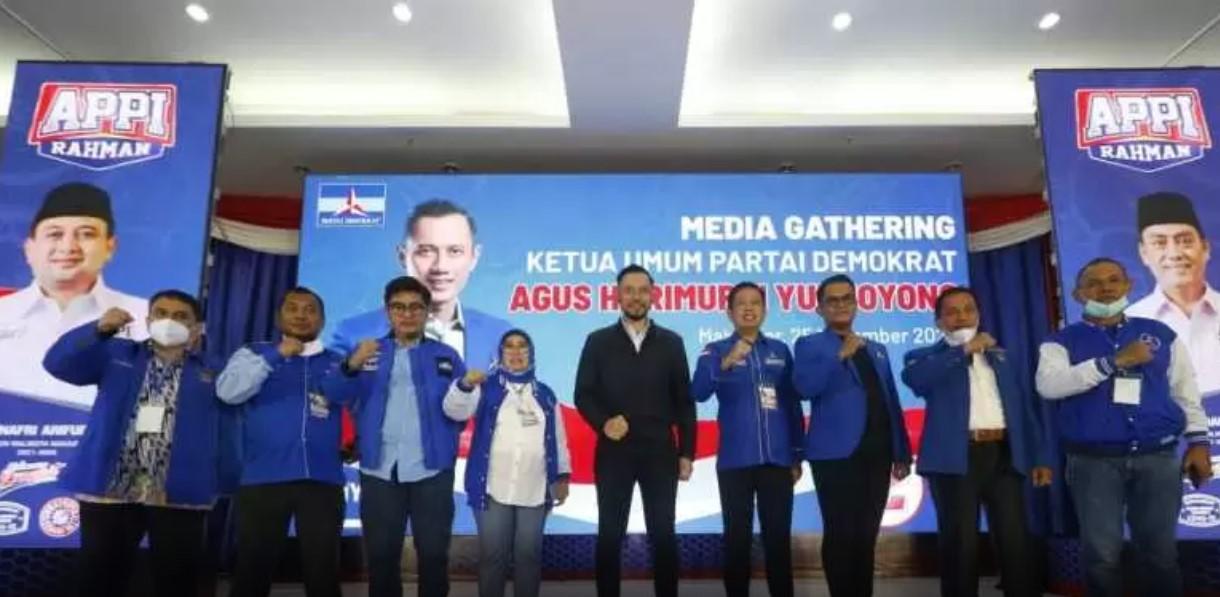 Ketua DPD Demokrat Instruksikan Para Kader Menangkan Appi-Rahman di Pilwalkot Makassar